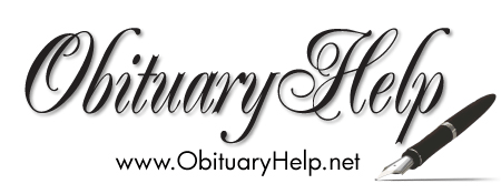 Obituary template logo